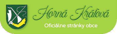 Obecný úrad - Oficiálne stránky obce Horná Kráľová
